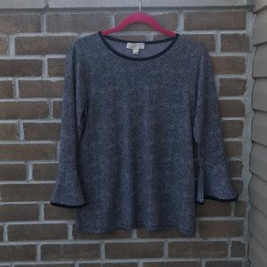 Michael Kors Bell Sleeve Top